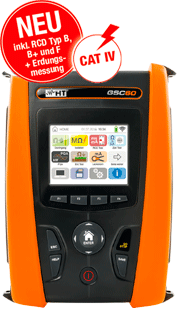 GSC60 - Professional safety tester and network analyzer